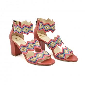Sandały Kordel 1859 Czerwone