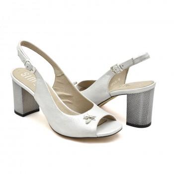 a785da98 Eleganckie sandały z odkrytą piętą firmy Simen