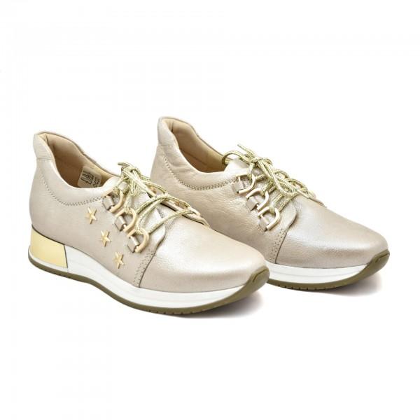 24796971 eleganckie obuwie sportowe ze złotymi dodatkami Aga