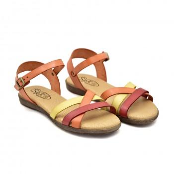 Miękkie wygodne Hiszpańskie sandałki