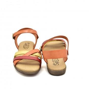 Bardzo miękkie wygodne skórzane letnie sandały
