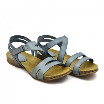 Wygodne lekkie na korkowe i fuzbetowej podeszwie Hiszpańskie Sandały SPK Shoes 920