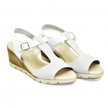 Hiszpańskie Sandały Vaquetillas 20712 na koturnie