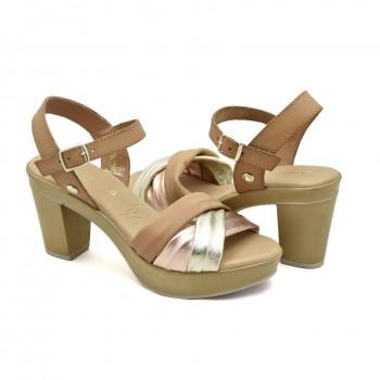 Miękkie i wygodne Sandały Vaquetillas 20682
