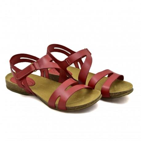 Hiszpańskie Sandały SPK Shoes 920 Czerwone