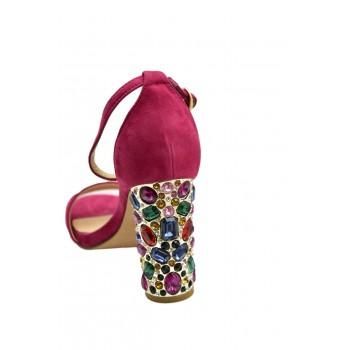 Prestiżowe Hiszpańskie Sandały Alma en Pena V19310 Różowe