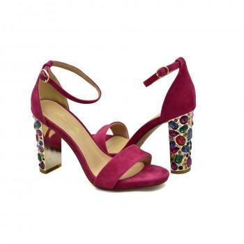 Modne i stylowe Hiszpańskie Sandały Alma en Pena V19310 Różowe