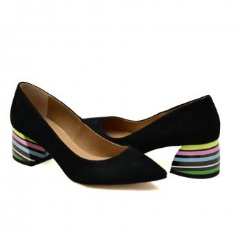 Czółenka Ulmani Shoes 19502 Czarne