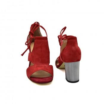 Sandały na każdą okazję Simen 1561A Czerwone