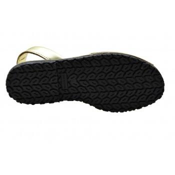 Płaskie eleganckie i na co dzień brokatowe sandałki Mariettas 550