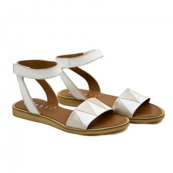Sandały Nessi 19561 Białe