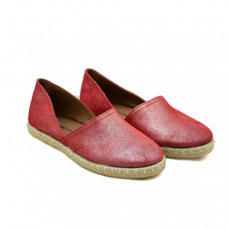 Hiszpańskie Espadryle Marietta's 47-4220-14 Czerwone