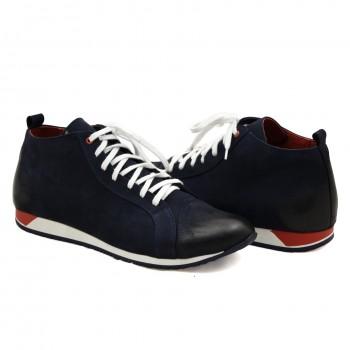 Miękkie i wygodne skórzane obuwie casual