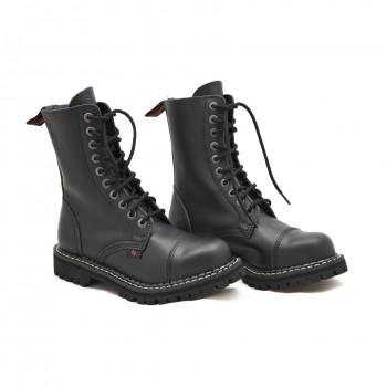 Skórzane buty na motor Nagaba 010H
