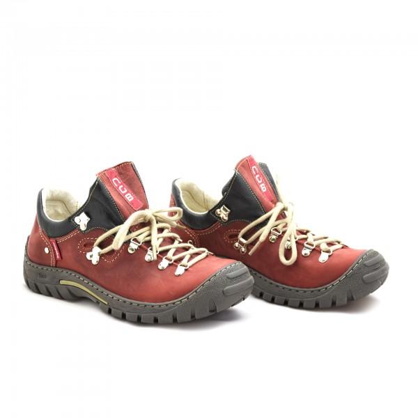 Buty męskie czerwone Nagaba 055