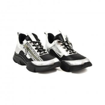 Damskie sneakersy na grubszej podeszwie 970-3 R1
