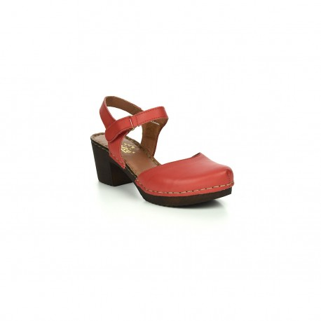 Damskie Sandały Manitu 910997 Czerwone