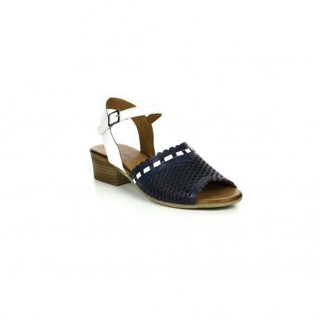 Damskie Sandały Piazza 910004 Granatowe