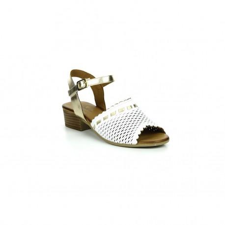 Damskie Sandały Piazza 910004 Białe