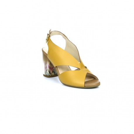 Damskie sandały Kordel 1998 żółty