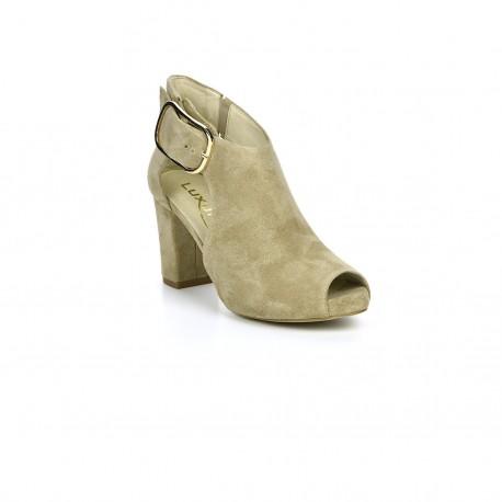 Botki-sandały Exquisite 1250 beż