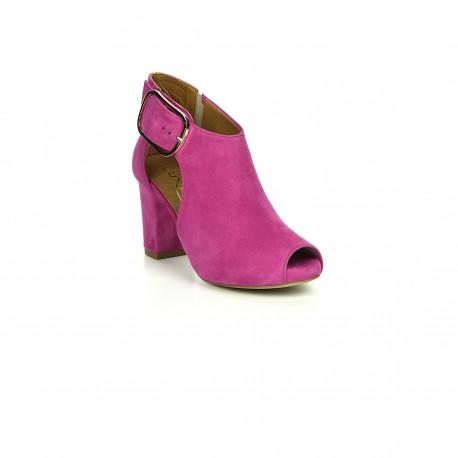 Botki-sandały Exquisite 1250 fuksja