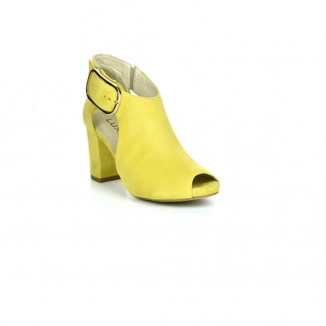 Botki-sandały Exquisite 1250 żółty