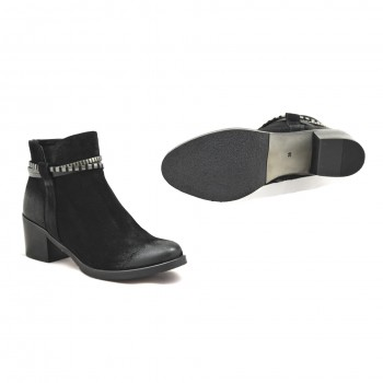 Eleganckie czarne buty Senso 70340