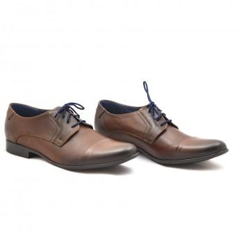 wygodne brązowe buty  J&R 197