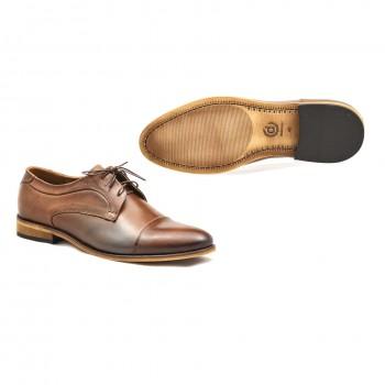DUO 1730 tuniskór męskie buty  wizytowe eleganckie i na co dzień