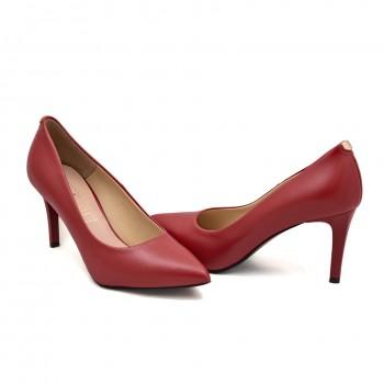 Buty wyjściowe,eleganckie i na co dzień Sala 1816/89 Czerwone lico