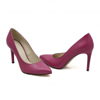 Buty wyjściowe bardzo dobrze wyprofilowane Anis 4527 Fuksja