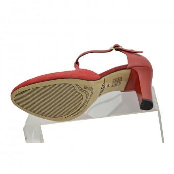b3c4473e86efa ... Wygodne czerwone buty wizytowe dobrze wyprofilowane Kotyl 5923