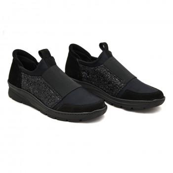 Czarne buty Damskie Butmil 475