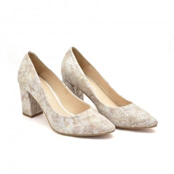 Buty eleganckie skórzane wyjściowe Damiss DS-43