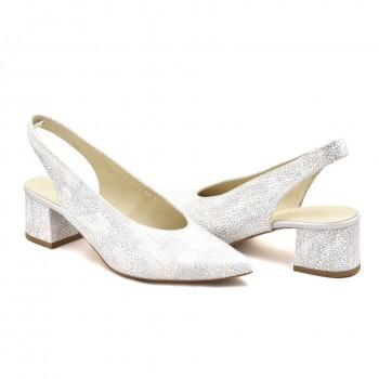buty bez pięty anis  3674