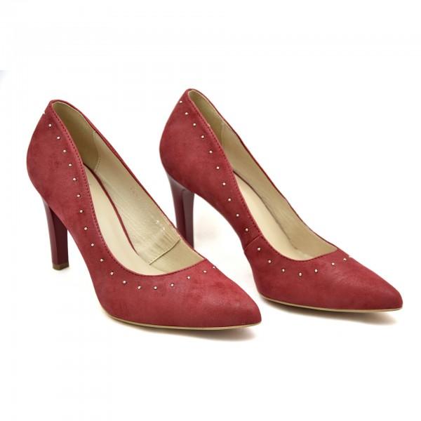 Buty wyjściowe Kordel 1841 Czerwone