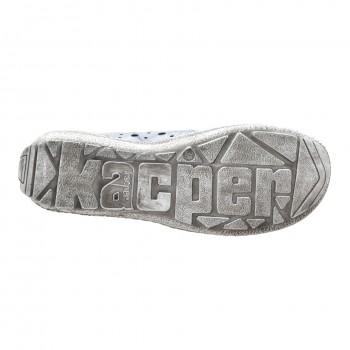 Codzienne niebieskie letnie buty Kacper 5234